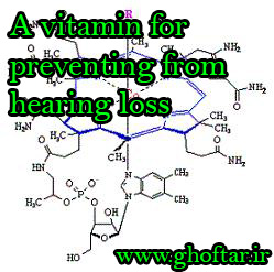A vitamin for preventing from hearing loss