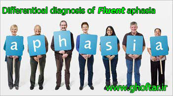 Differentioal diagnosis of fluent aphasia