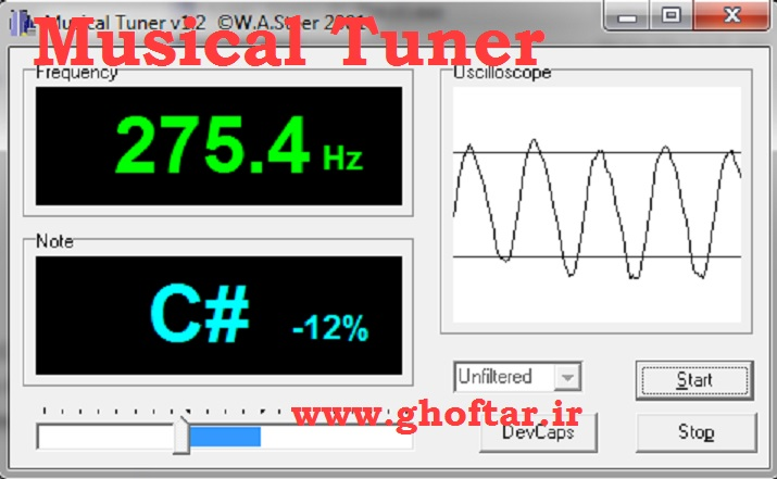 musical tuner