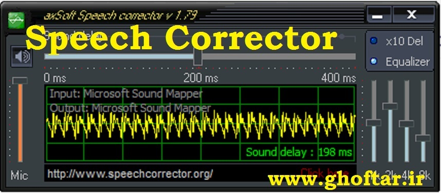 speech corrector
